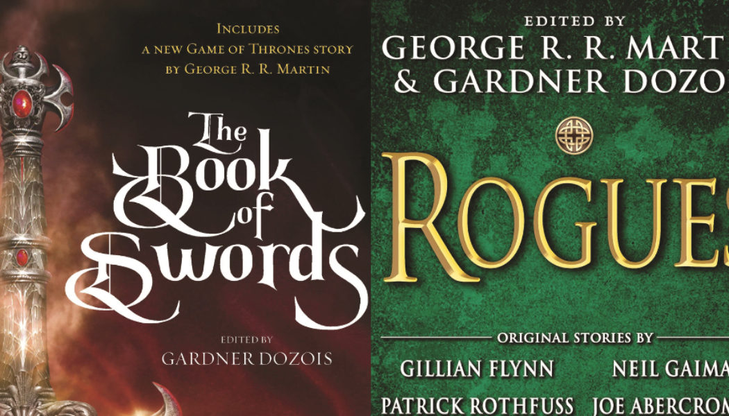 Traduction en français des anthologies « Rogues » et « The Book of Swords »