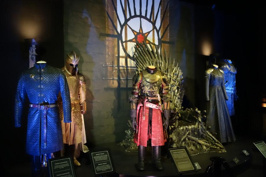 Salle du trône de Port-Réal (crédits : Thistle).