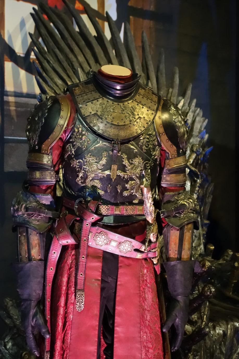 Détail de l'armure de Jaime Lannister (crédits : Thistle).