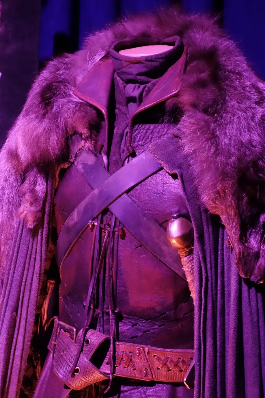 Détail du costume de Ramsay Bolton (crédits : Thistle).