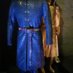 Costume de Tywin Lannister et armure de Ser Meryn Trant, 28 kilos de bonheur (crédits : Thistle).