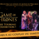 Affiche du concours de cosplay de la Game of Thrones Touring exhibition 2018