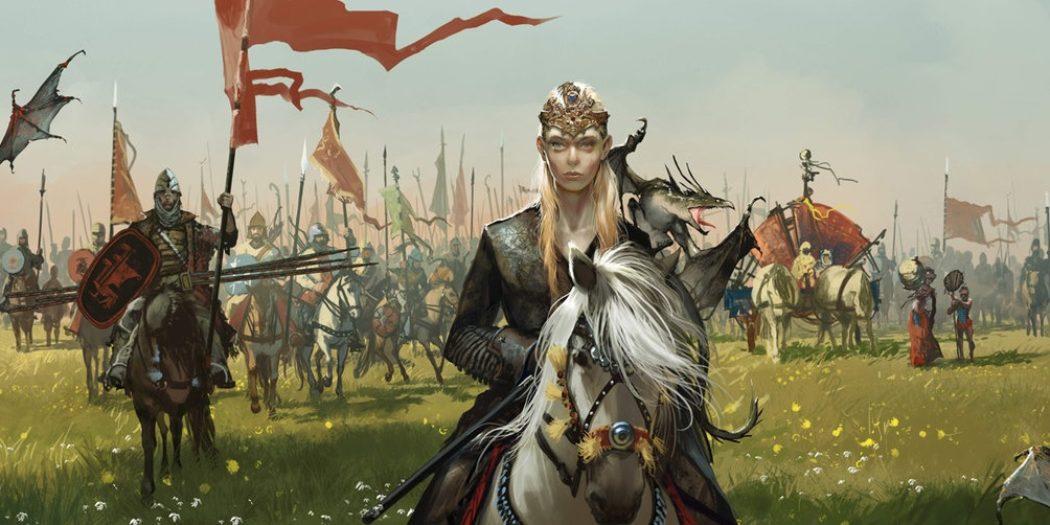 """Visuel de l'extension """"Mother of dragons"""" du jeu de plateau A Game of Thrones. Crédit : Tomasz Jedruszek pour Fantasy Flight Game - 2018"""