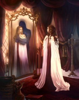 La cape blanche, par EvaMariaToker(https://www.deviantart.com/evamariatoker)