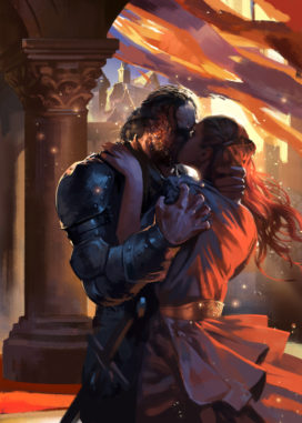 Sansa et Sandor, par Zippo514 (https://www.deviantart.com/zippo514)
