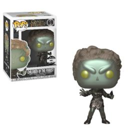Figurine Pop Funko de Feuille, l'enfant de la forêt, en version métal exclusive.