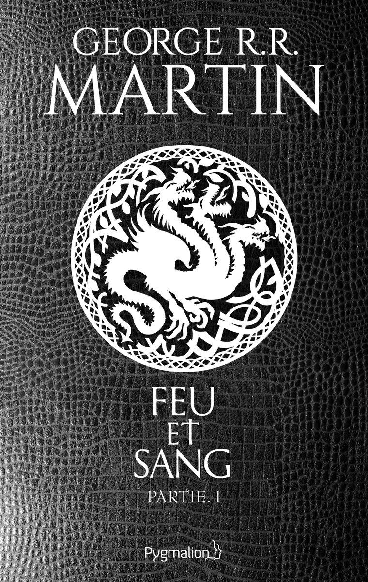 Couverture française de Feu et Sang (crédits : Pygmalion)