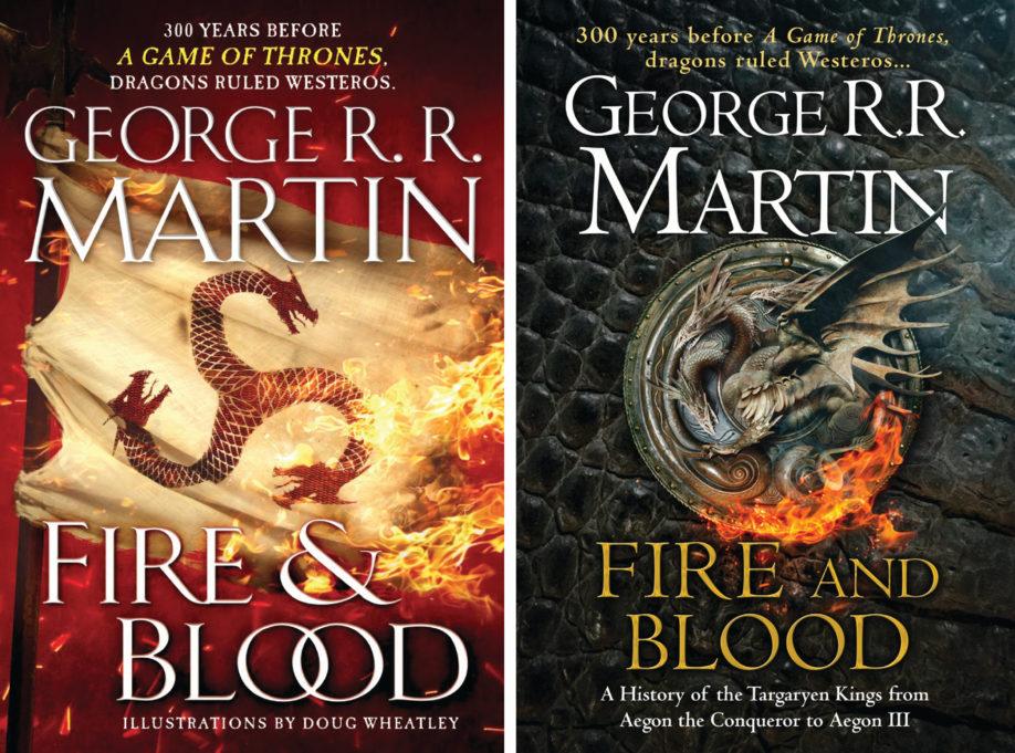 Couverture des éditions anglophones : à gauche, édition US (Bantam Spectra) ; à droite, édition UK (HarperCollins Voyager)