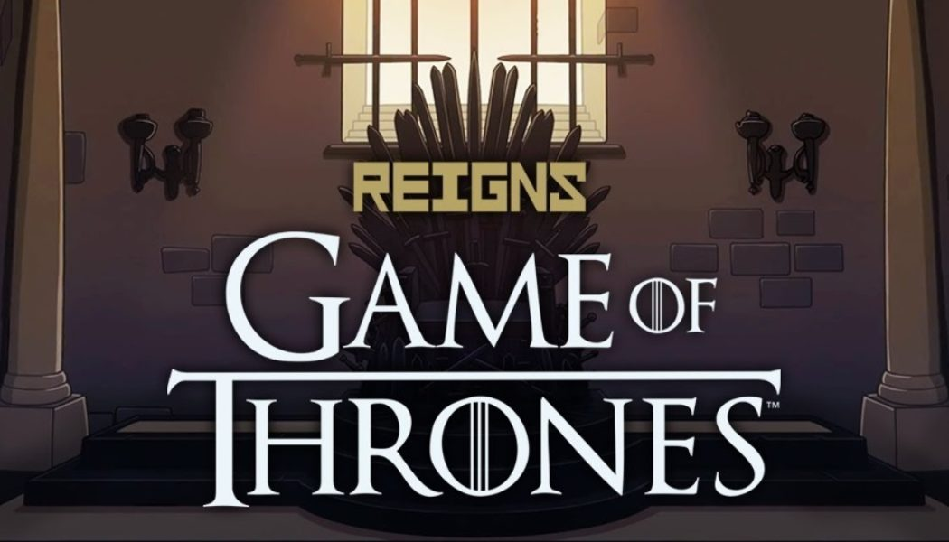 "Jeu sur portable ""Reigns : Game of Thrones"""