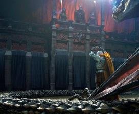 Daemon Targaryen offrant sa couronne (Crédit: Chase Stone ; TWOIAF)