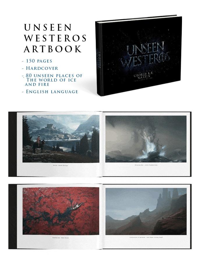 Unseen Westeros Artbook