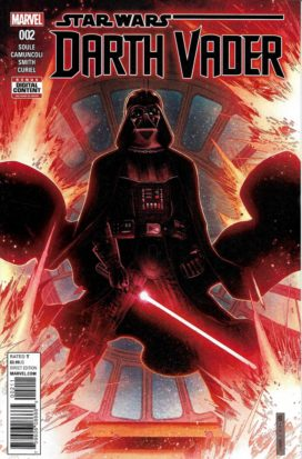 Couverture de Star Wars: Darth Vader , Marvel comics