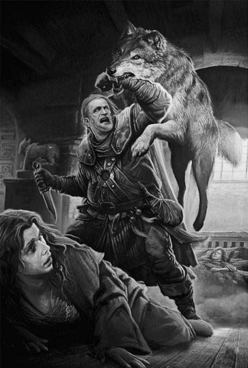 La seconde tentative d'assassinat de Bran (A Game of Thrones - illustrated édition)
