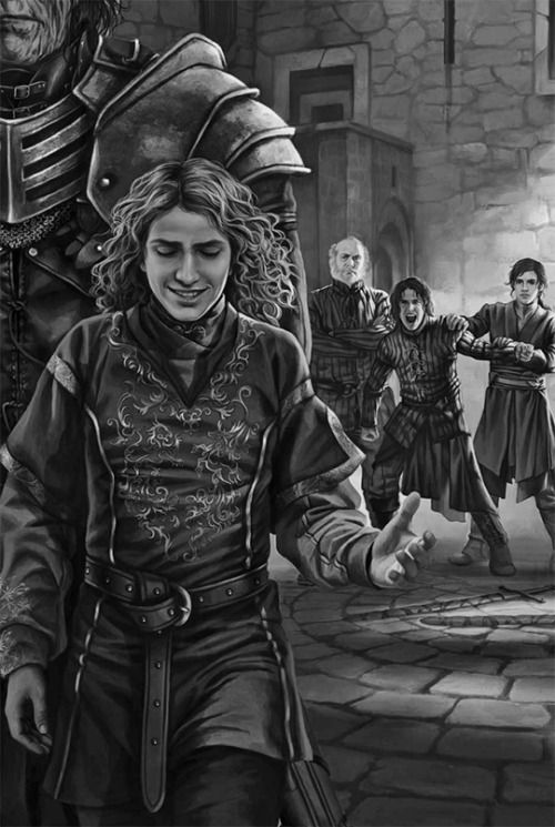 Joffrey à Winterfell (A game of thrones illustrated édition)