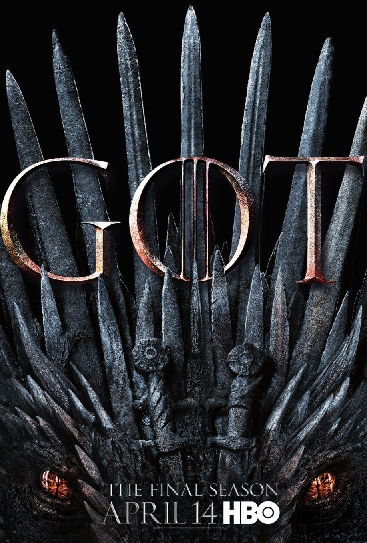 Affiche promotionnelle de la saison 8 (crédits : HBO)