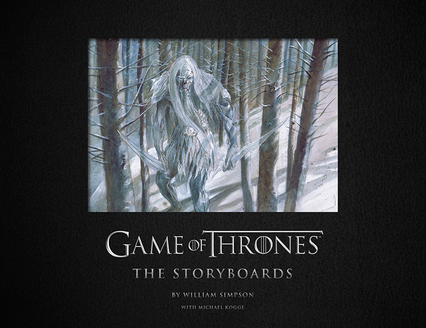 Couverture de Game of Thrones: The Storyboards (crédits : Insight Editions)