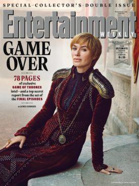 Cersei Lannister (crédits : Marc Hom, EW)