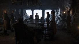 Conseil de guerre de Daenerys à Peyredragon