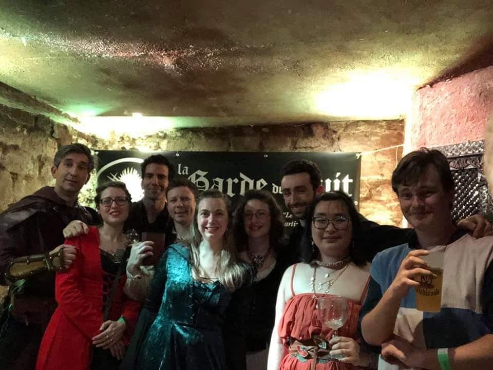 Groupe GdN Taverne Médiévale 5 avril