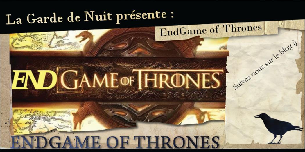 Concours EndGame of Thrones : Les résultats