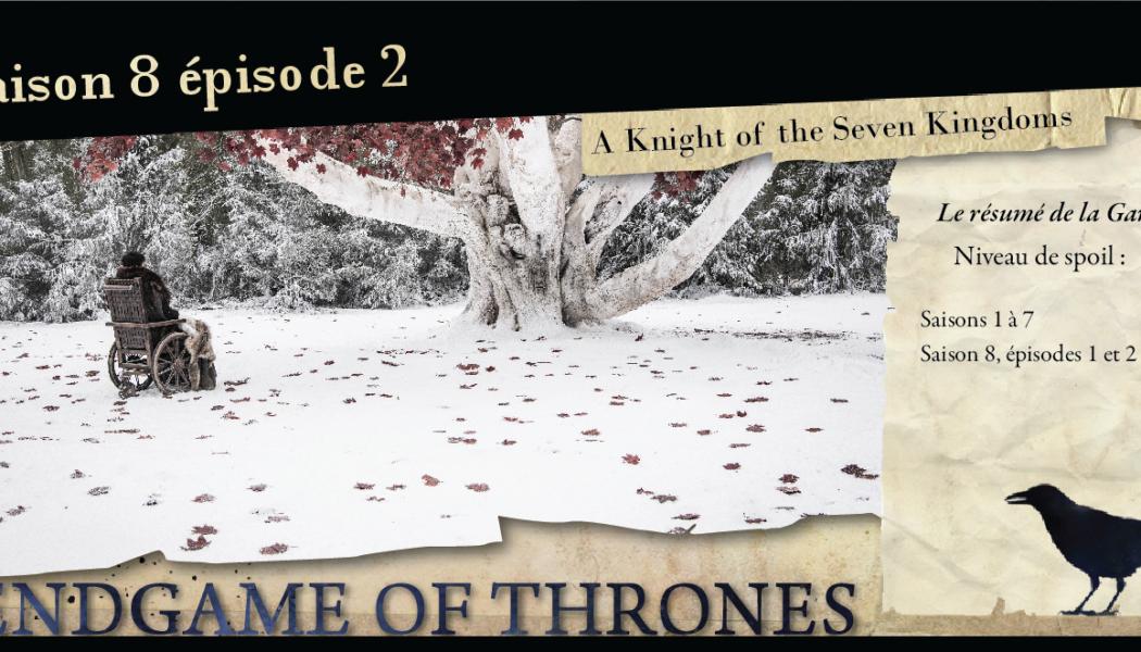 Saison 8, épisode 2 : A Knight of the Seven Kingdoms