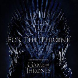 """Pochette de l'album """"For The Throne"""" (Columbia Records)"""