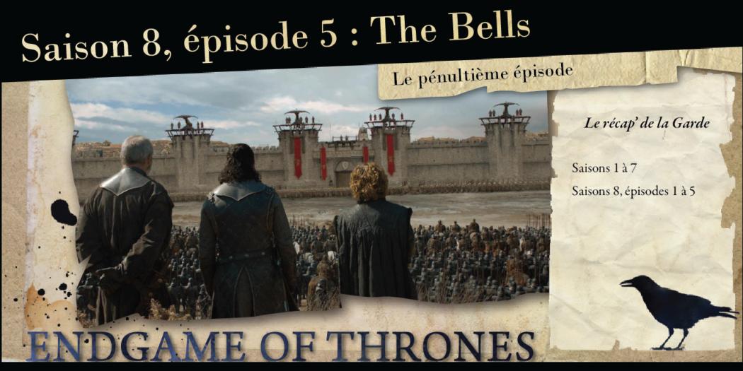 Saison 8, épisode 5 : The Bells