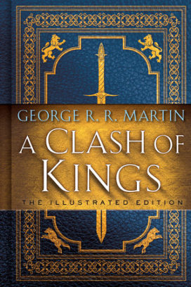 Couverture de l'édition deluxe A Clash of Kings (Bantam Spectra)