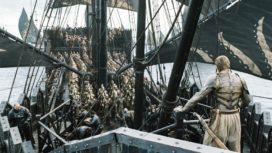 La Compagnie Dorée de la série, sur les navires fer-nés (crédits : HBO)