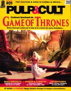 """Premier numéro du magazine """"Pulp&Cult"""""""
