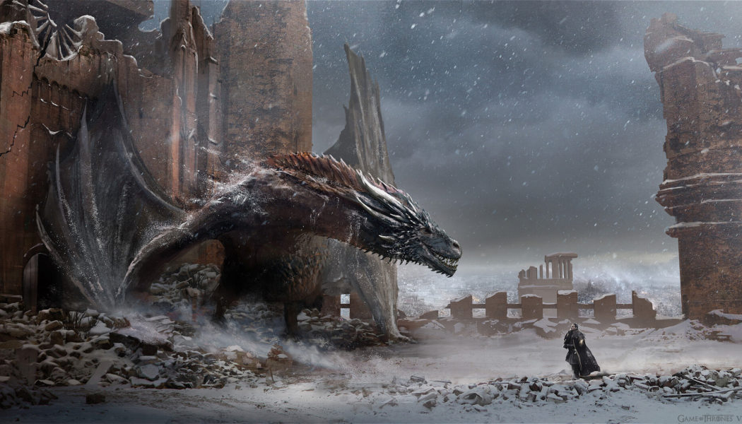 Game of Thrones : Concept Art, storyboards et costumes sur le site d'HBO