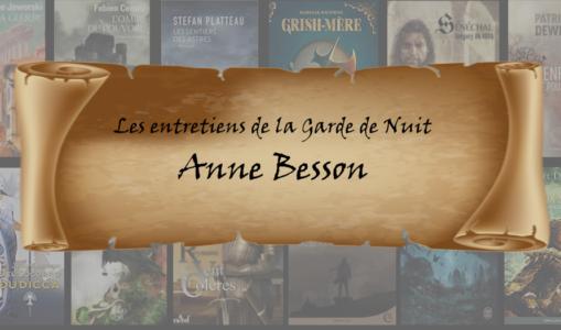 Entretien avec … Anne Besson