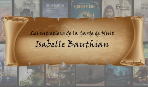 Entretien avec… Isabelle Bauthian