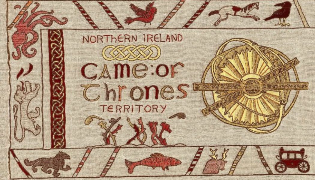 Exposition de la tapisserie Game of Thrones à Bayeux du 13 septembre au 31 décembre 2019