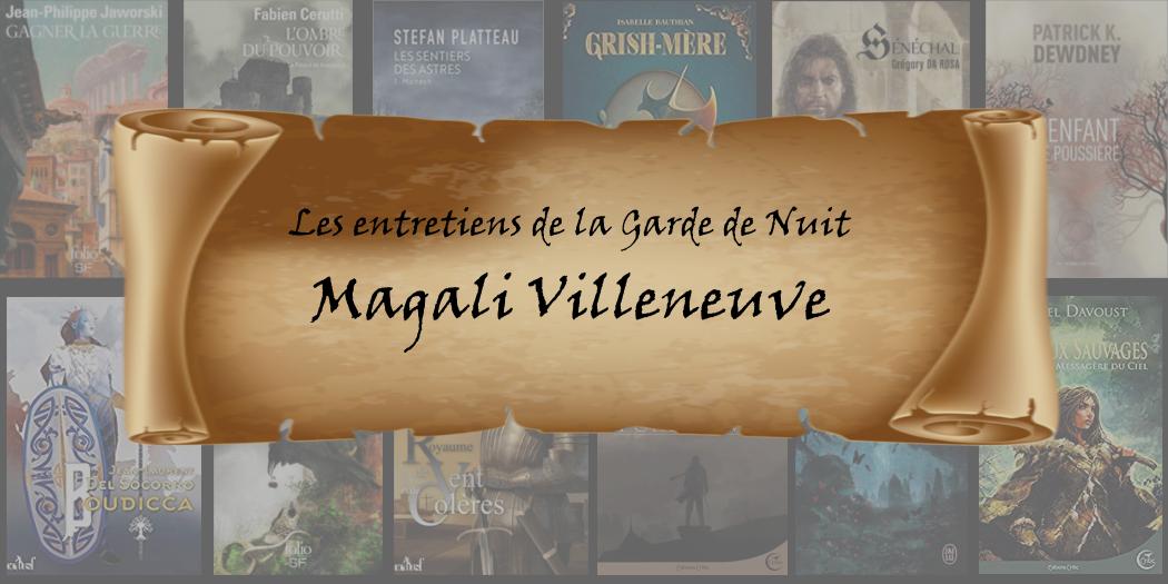 Entretien avec… Magali Villeneuve