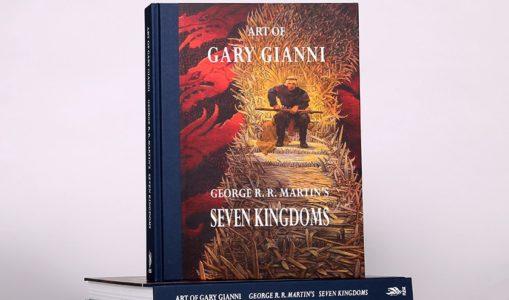 Parution d'un artbook «Seven Kingdoms» (en VO) rassemblant les illustrations de Gary Gianni sur le Trône de Fer