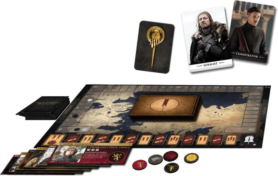 Game of Thrones: Oathbreaker. Plateau de jeu