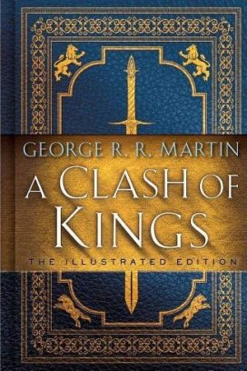 "Couverture de l'édition des 20 ans de ""A Clash of Kings"" (éditions Bantam Spectra)"