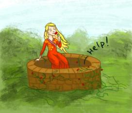 Cersei Lannister, Melara Cuillêtre et le puits (Crédits : Inconnu)