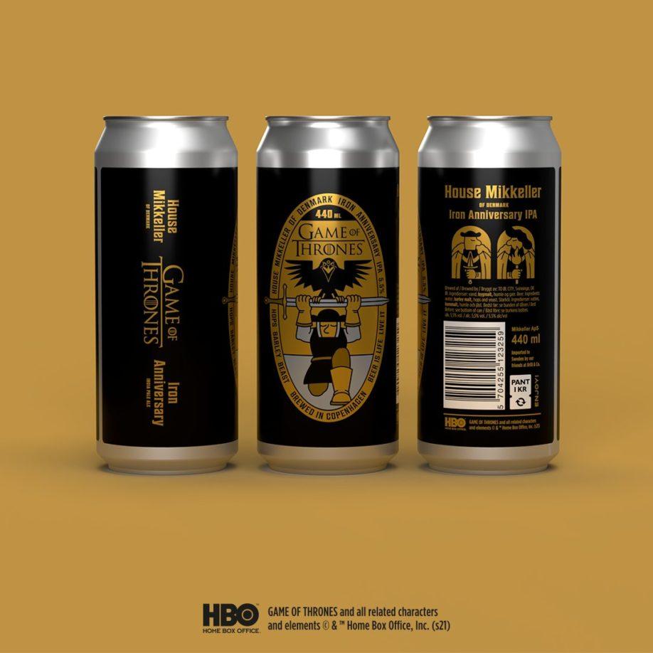 "bières ""Iron Anniversary IPA"""