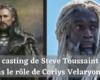 Du casting de Steve Toussaint dans le rôle de Corlys Velaryon