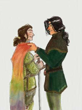 Loras et Renly (shebstar)