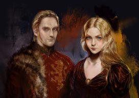 Tywin et Joanna Lannister par Bellabergolts