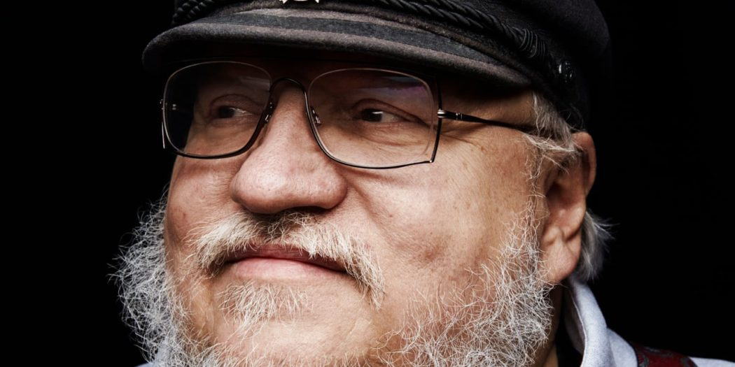 Portrait de George R.R. Martin pour The Guardian (crédits : Peter Yang)