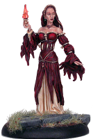 Mélisandre d'Asshai ; © 2008, Dark Sword Miniatures Inc.
