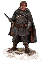 Samwell Tarly ; © 2008, Dark Sword Miniatures Inc.