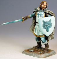 Robb Stark ; © 2009, Dark Sword Miniatures Inc.