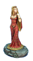 Cersei Lannister ; © 2008, Dark Sword Miniatures Inc.