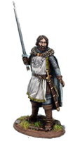 Eddard Stark ; © 2009, Dark Sword Miniatures Inc.